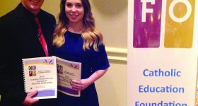 Two RCCDSB high school grads win Catholic Student Awards