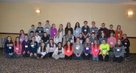 Renfrew Students who gathered to collaborate around Student Voice at RCCDSB
