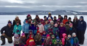 Arnprior and Calabogie students enjoy outdoor education and mark the beginning of Lent