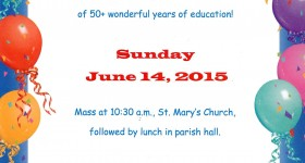St. Mary's School in Wilno Celebrates 50+ years