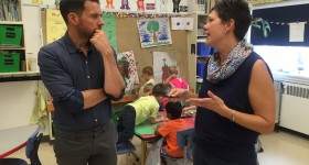 RCCDSB hosts guest researcher from England